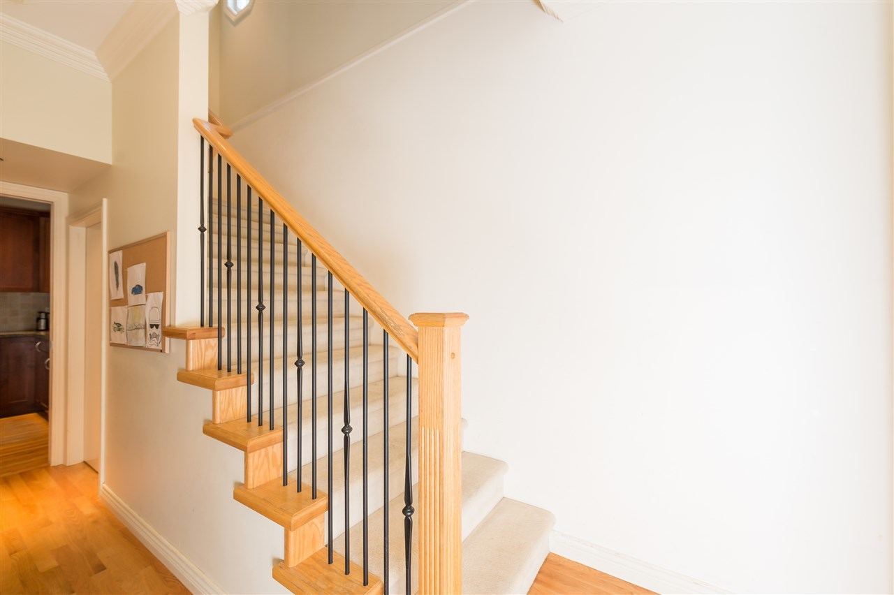 Bright Duplex Burnaby staircase  at 4327 Albert Street, Vancouver Heights, Burnaby North