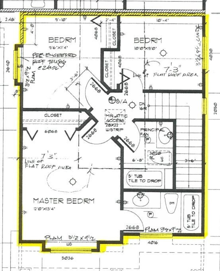 Bright Duplex Burnaby floor plan 2nd level at 4327 Albert Street, Vancouver Heights, Burnaby North