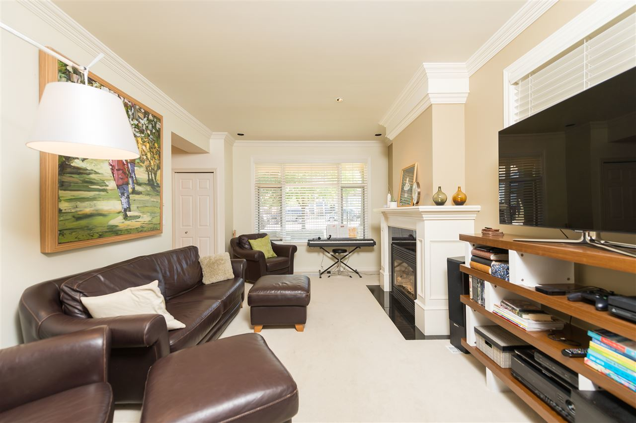 Bright Duplex Burnaby living area at 4327 Albert Street, Vancouver Heights, Burnaby North