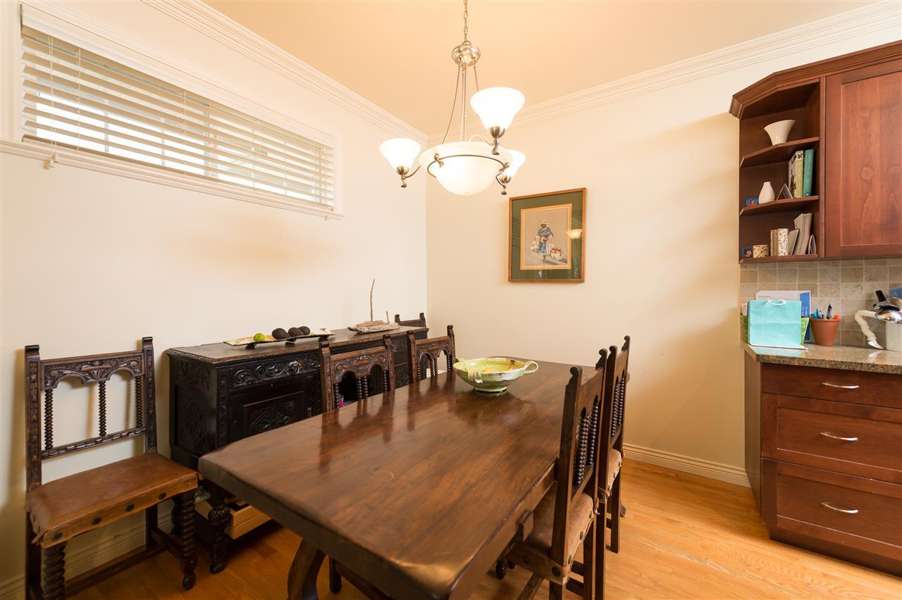 Bright Duplex Burnaby formal dining room at 4327 Albert Street, Vancouver Heights, Burnaby North