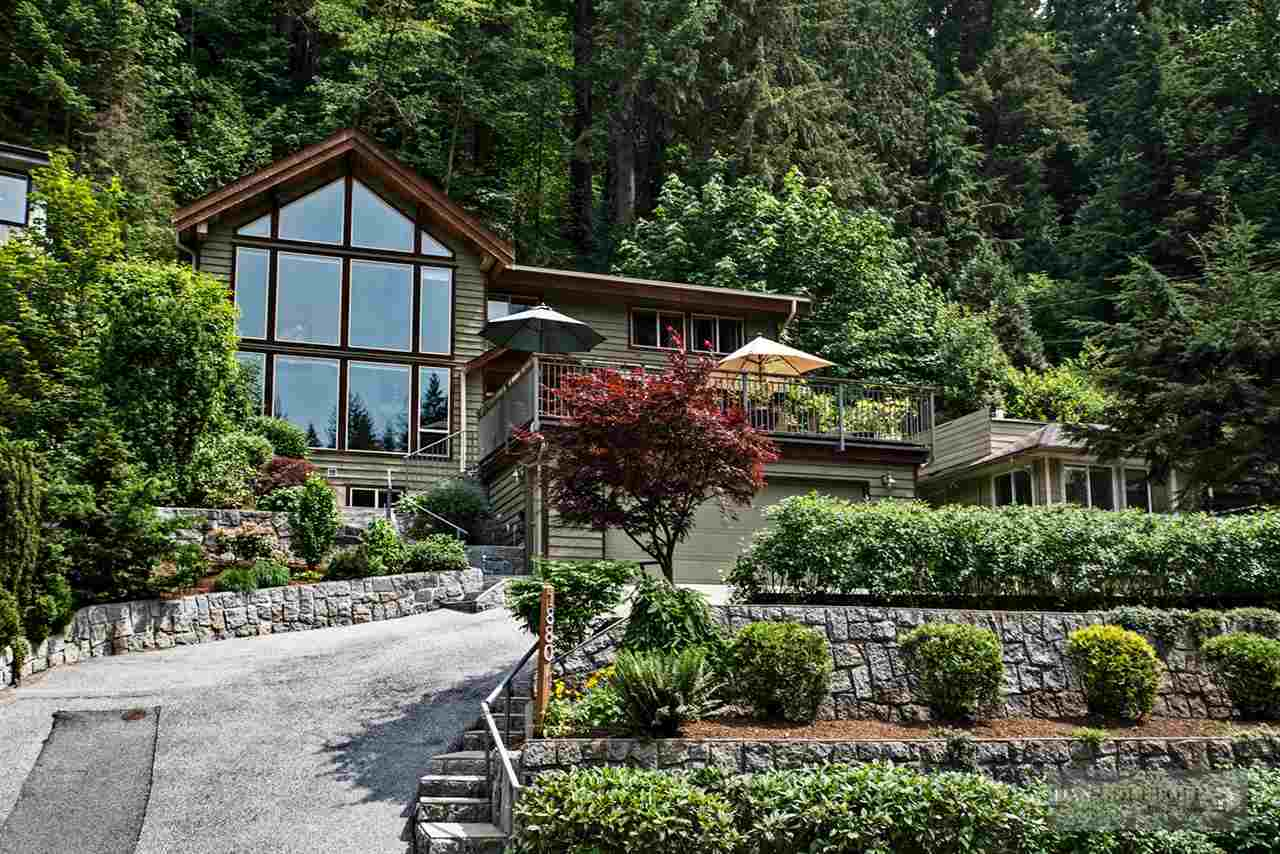 North Vancouver Custom 3 Level - Front Exterior at 1880 Riverside Drive, Seymour NV, North Vancouver