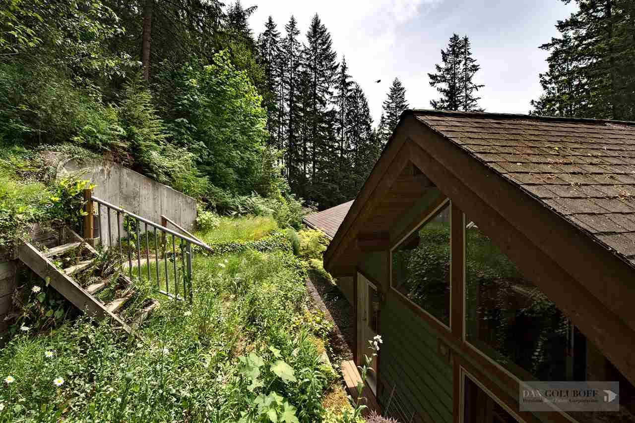 North Vancouver Custom 3 Level - Backyard at 1880 Riverside Drive, Seymour NV, North Vancouver
