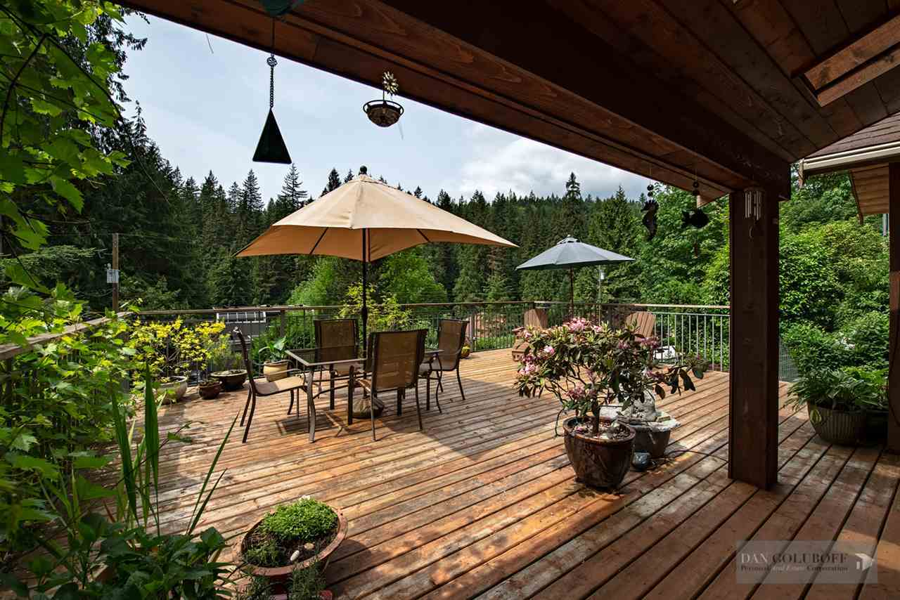 North Vancouver Custom 3 Level - Deck at 1880 Riverside Drive, Seymour NV, North Vancouver