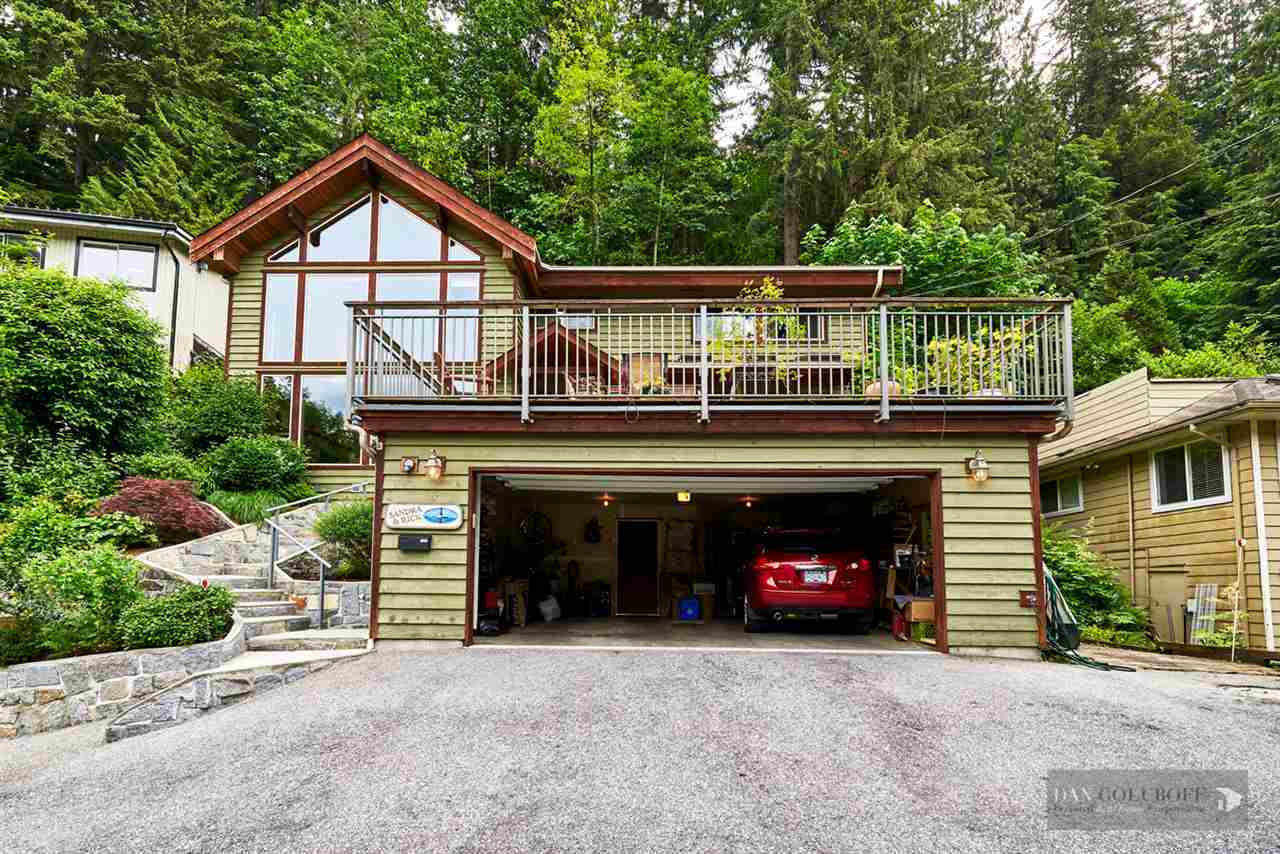 North Vancouver Custom 3 Level - Garage  at 1880 Riverside Drive, Seymour NV, North Vancouver