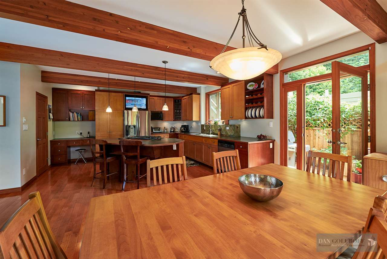 North Vancouver Custom 3 Level - Formal Dining at 1880 Riverside Drive, Seymour NV, North Vancouver