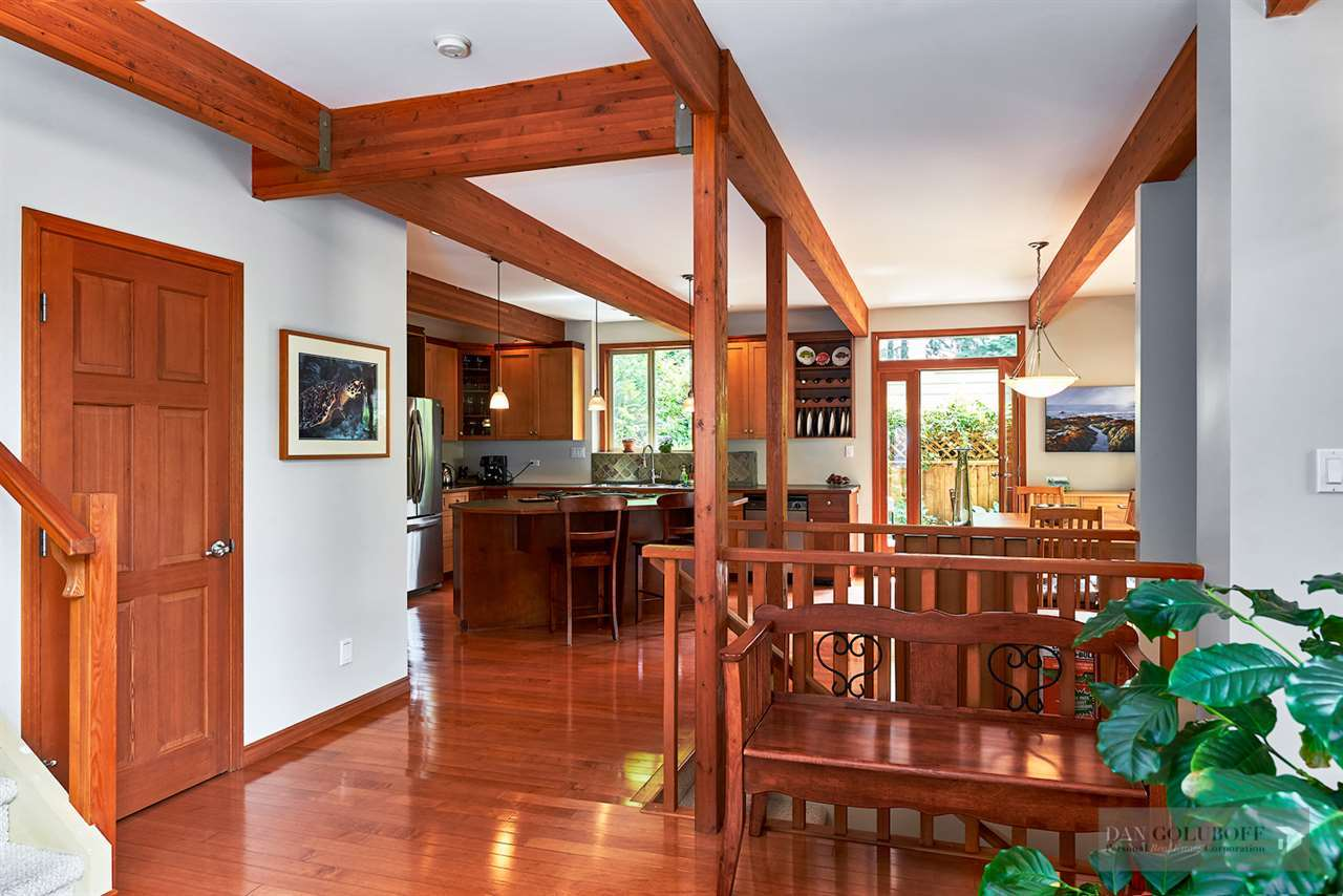 North Vancouver Custom 3 Level  - Foyer at 1880 Riverside Drive, Seymour NV, North Vancouver