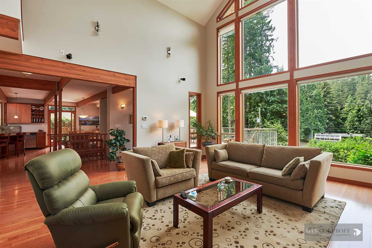 North Vancouver Custom 3 Level - Vaulted Ceilings at 1880 Riverside Drive, Seymour NV, North Vancouver