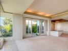 Sunken living room, recessed lighting at 2456 Bellevue Avenue, Dundarave, West Vancouver