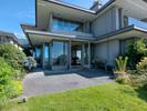 South west patio at 2456 Bellevue Avenue, Dundarave, West Vancouver