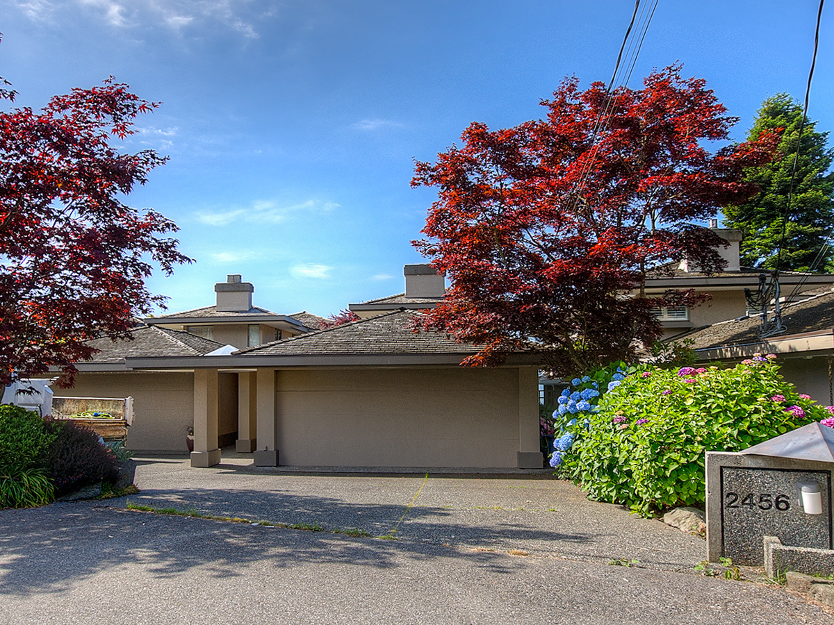 Double Car Garage at 2456 Bellevue Avenue, Dundarave, West Vancouver