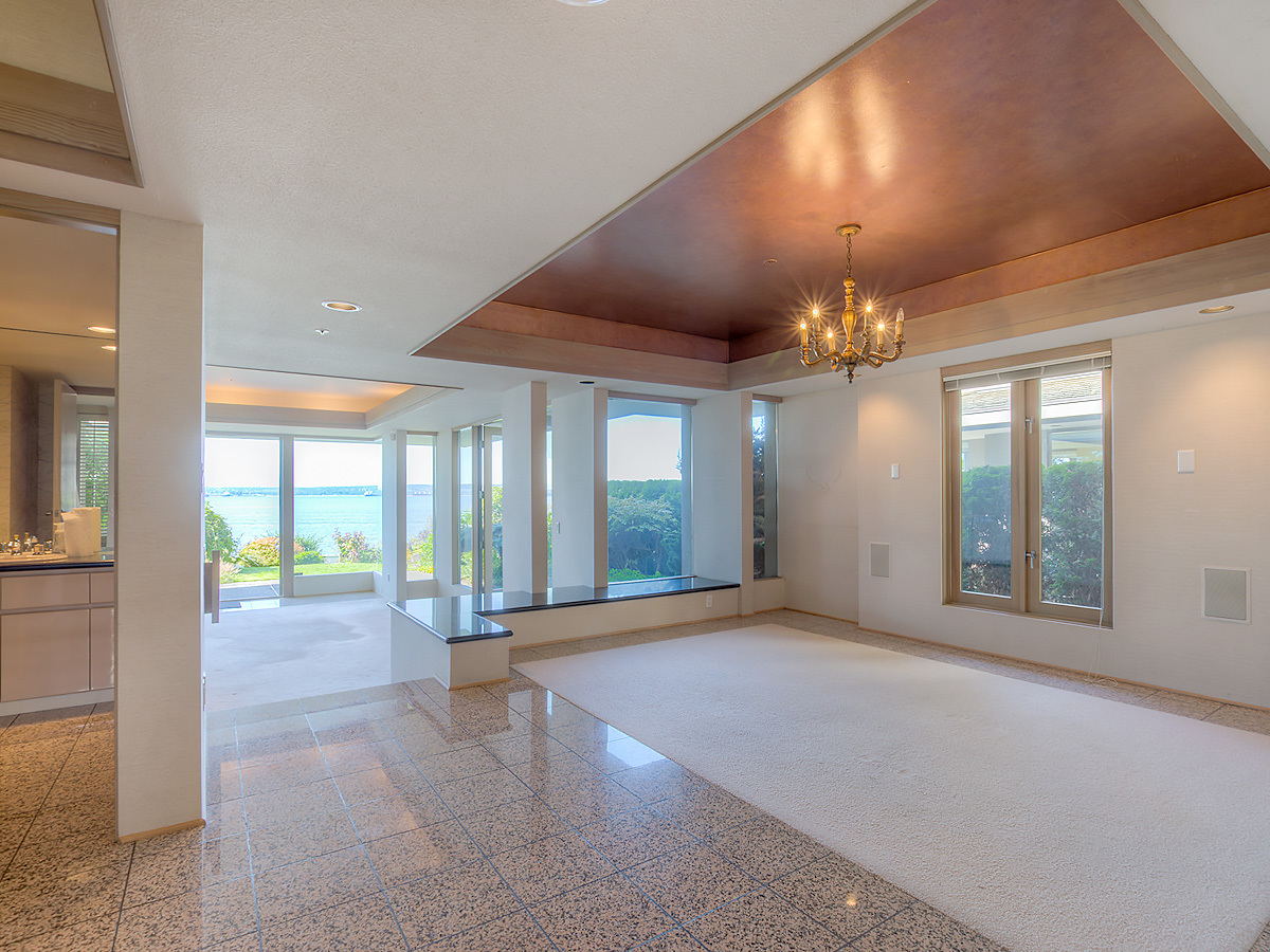 Dining Room at 2456 Bellevue Avenue, Dundarave, West Vancouver