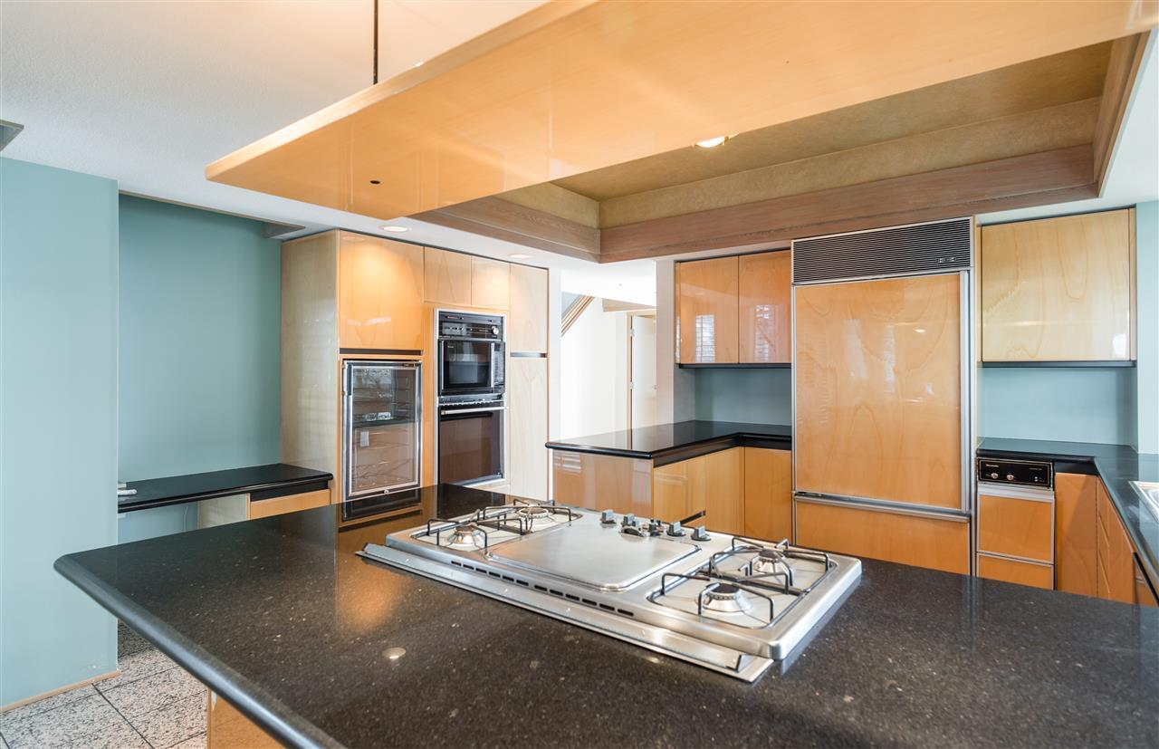 Large kitchen at 2456 Bellevue Avenue, Dundarave, West Vancouver