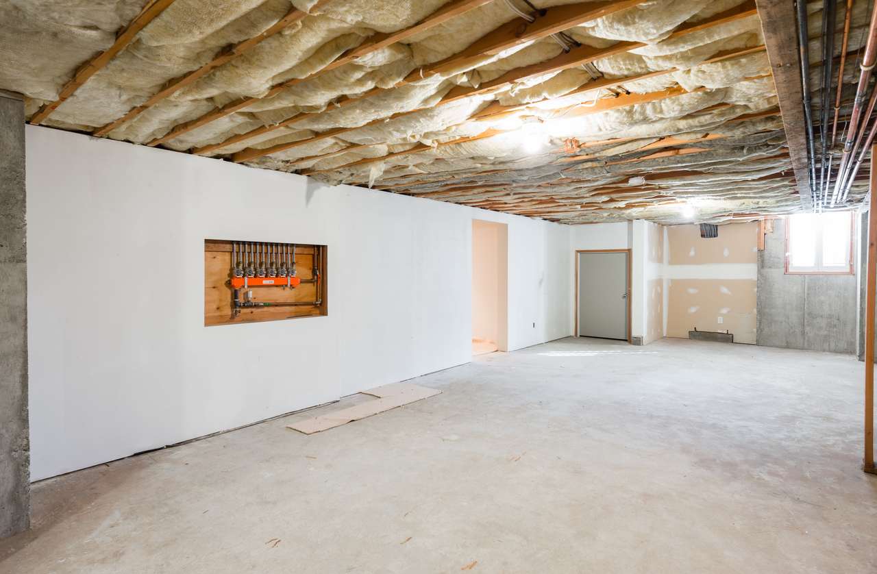 Partially finished basement at 2456 Bellevue Avenue, Dundarave, West Vancouver