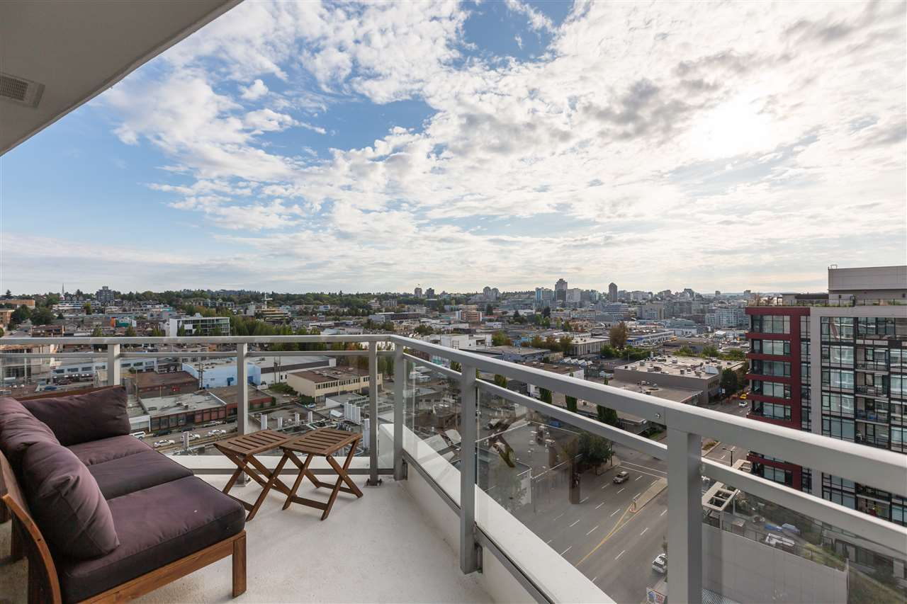 Amazing South West Views from a huge patio at 1609 - 1775 Quebec Street,