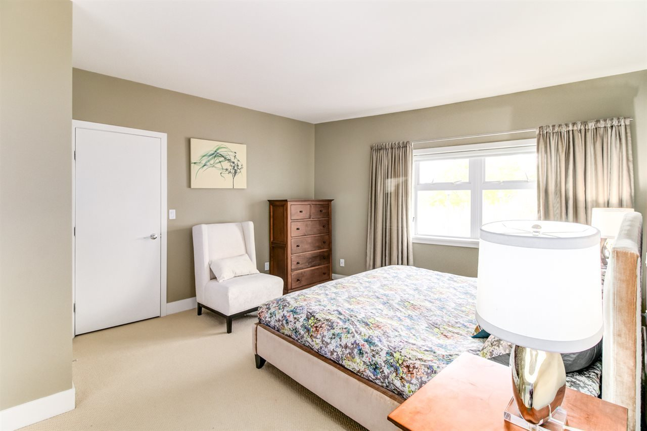 Master bedroom has double walk in closets at 6002 Chancellor Boulevard, University VW, Vancouver West