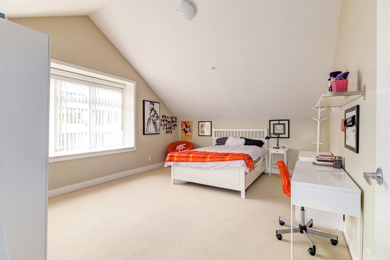 Vaulted ceiling large bedroom at 6002 Chancellor Boulevard, University VW, Vancouver West