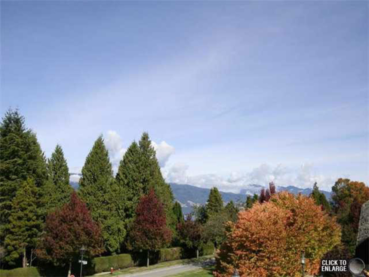 View from rooftop patio at 6002 Chancellor Boulevard, University VW, Vancouver West