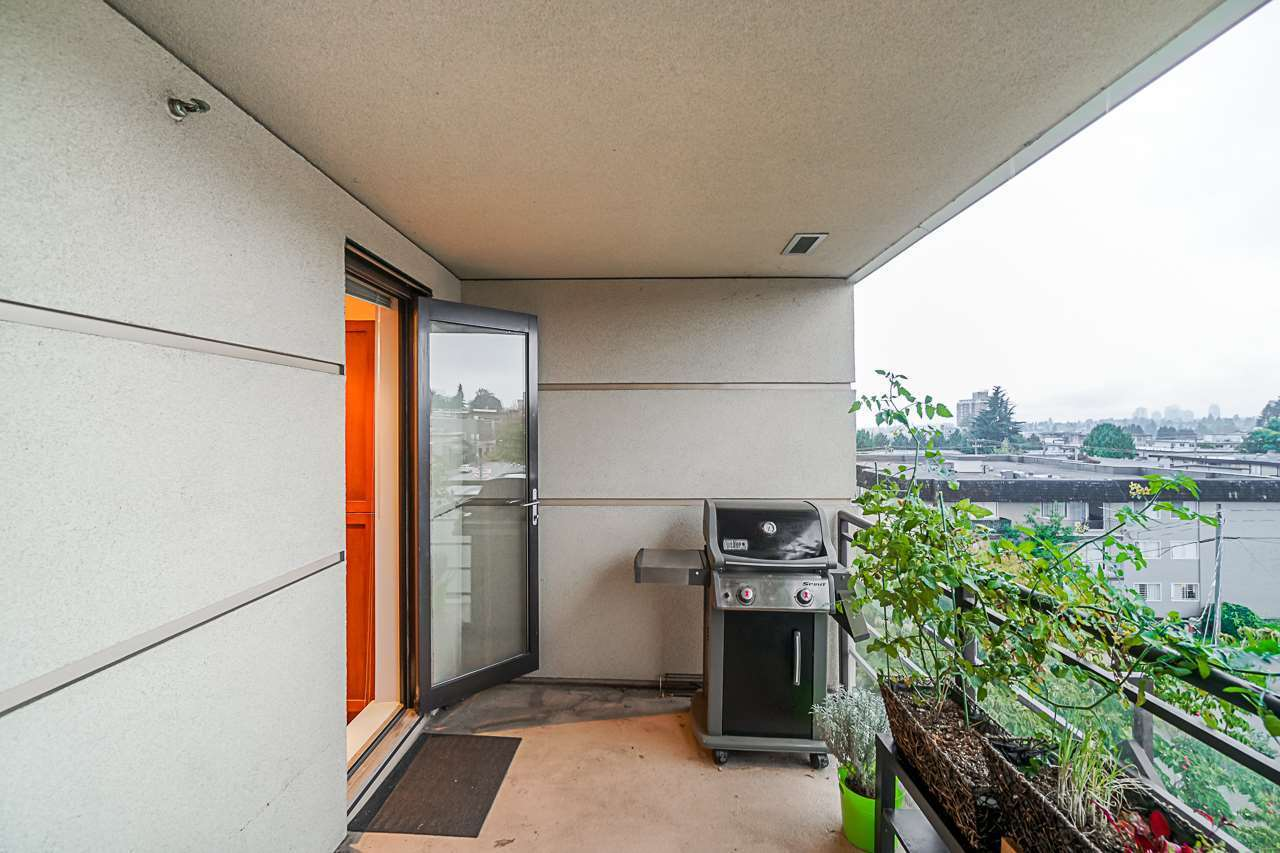 Lots of room for the BBQ at 501 - 306 Sixth Street, Uptown NW, New Westminster