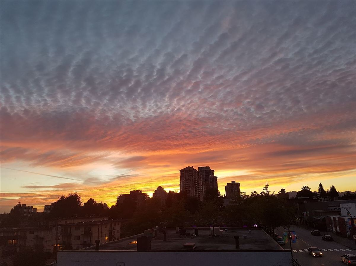 Enjoy stunning sunsets at 501 - 306 Sixth Street, Uptown NW, New Westminster