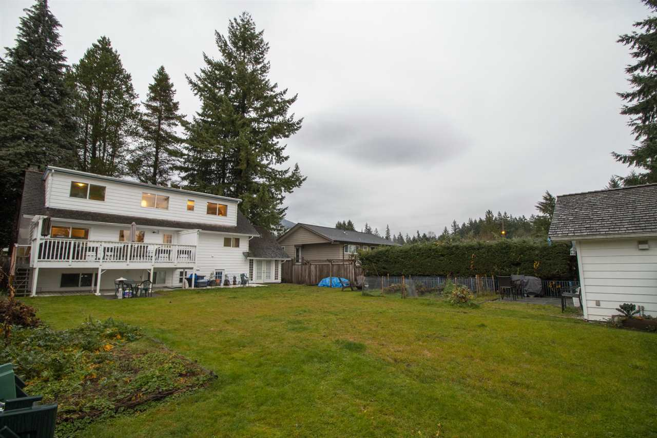 backyard1 at 2707 Carnation Street, Blueridge NV, North Vancouver