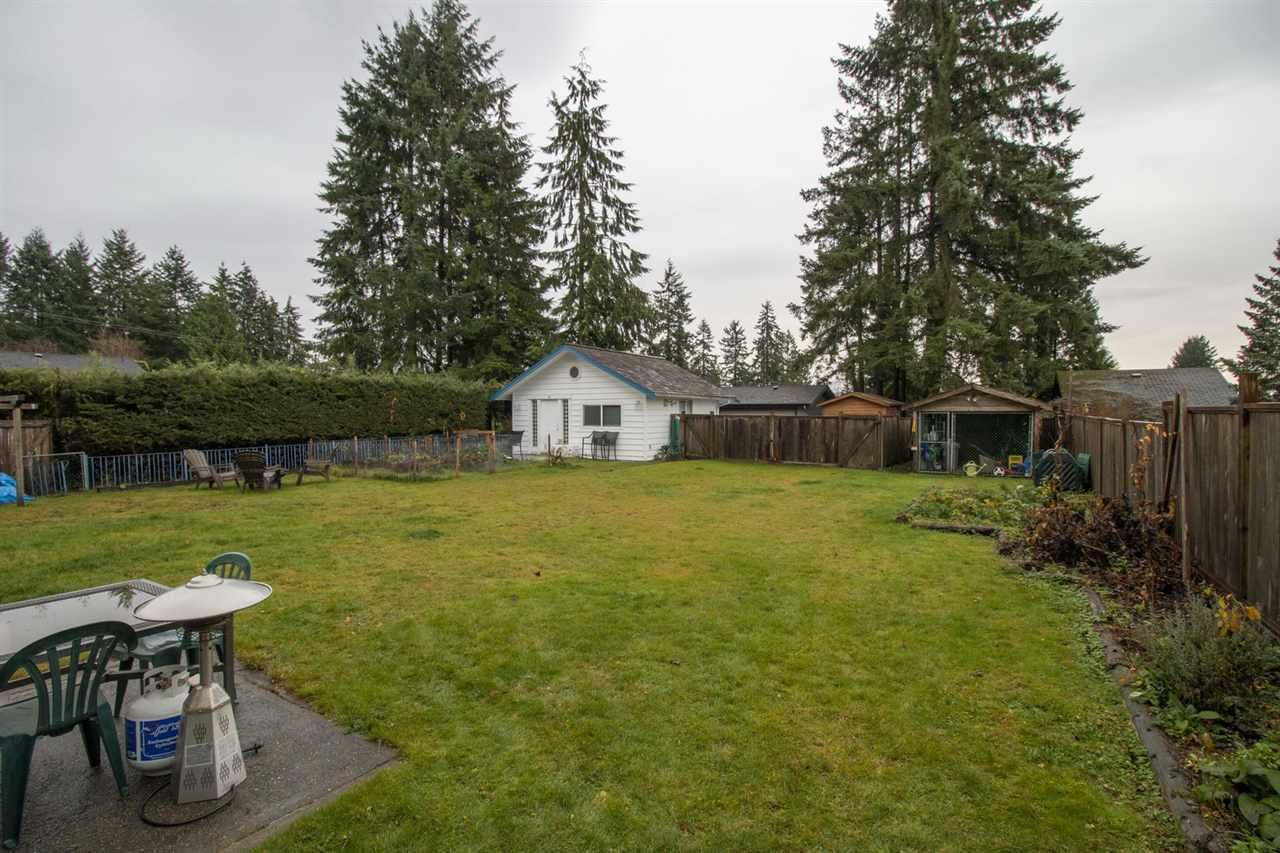 backyard2 at 2707 Carnation Street, Blueridge NV, North Vancouver