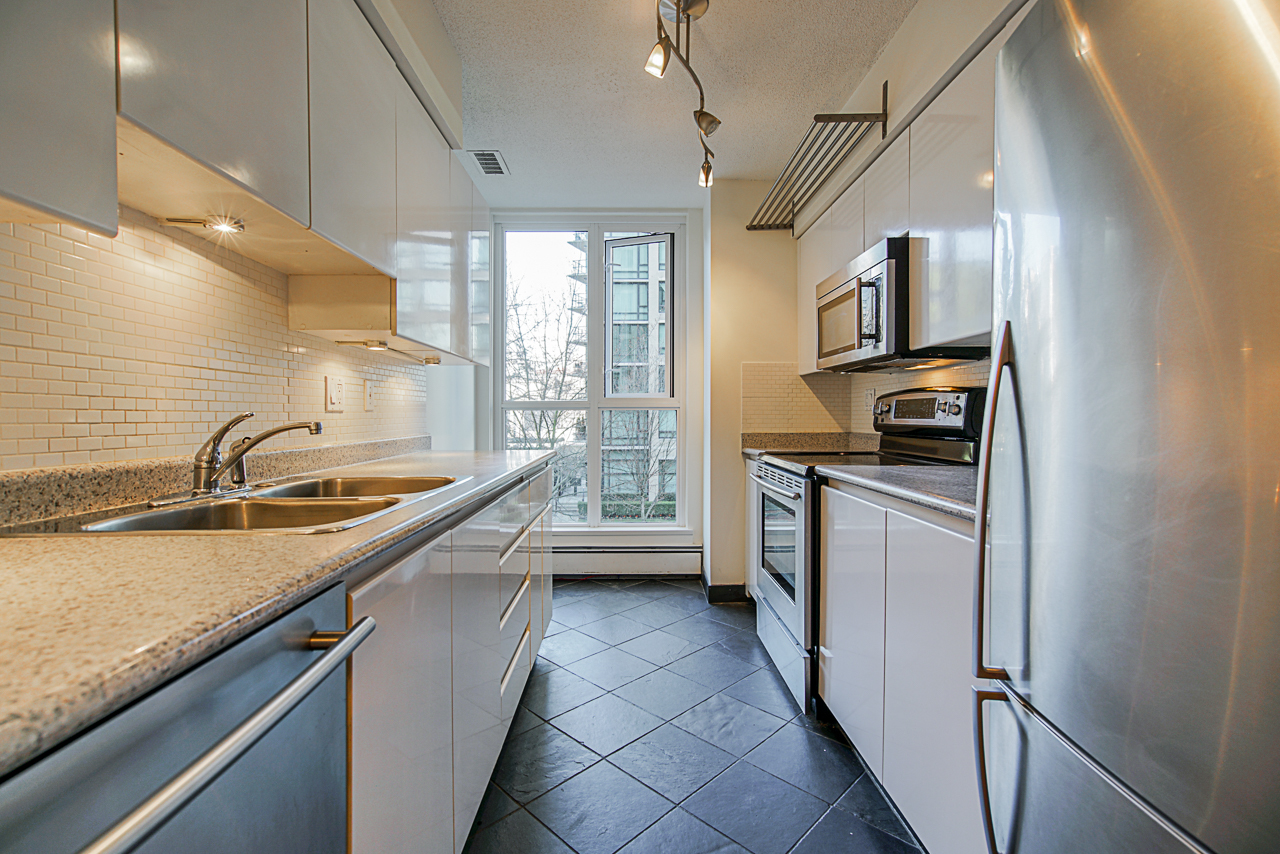 Kitchen at 303 - 1010 Burnaby Street, West End VW, Vancouver West