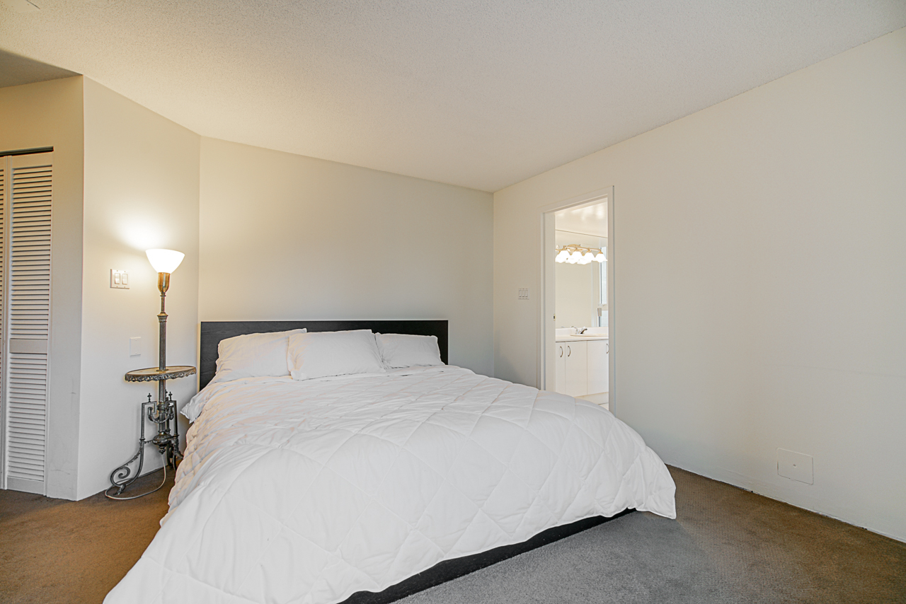 Master bedroom at 303 - 1010 Burnaby Street, West End VW, Vancouver West