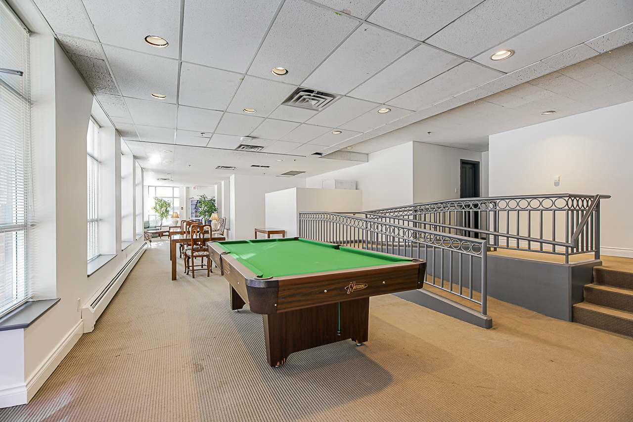 Common Games room with kitchen at 303 - 1010 Burnaby Street, West End VW, Vancouver West