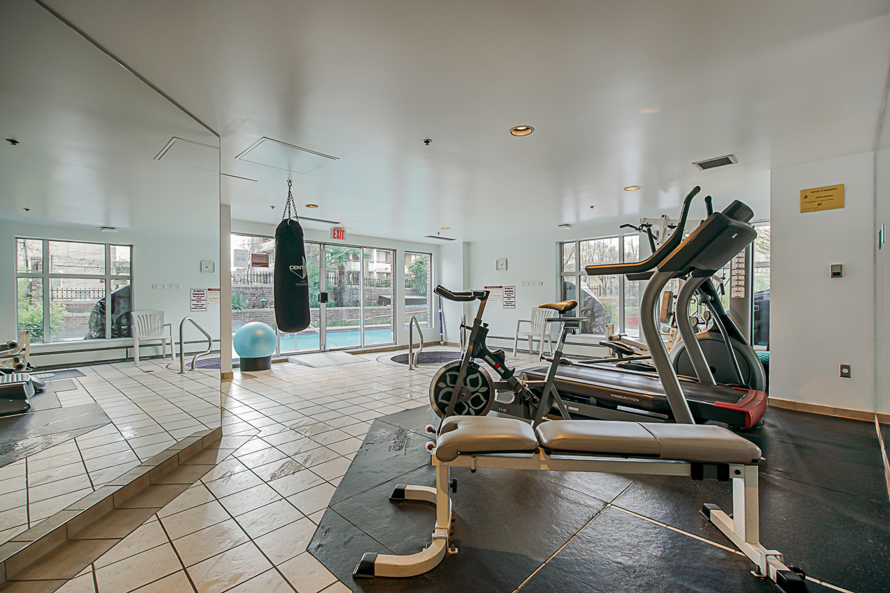 Gym and Hot Tub at 303 - 1010 Burnaby Street, West End VW, Vancouver West