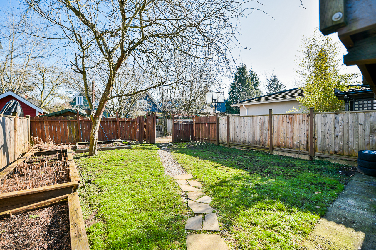 backyard2 at 4538 Sophia Street, Main, Vancouver East