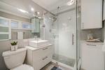 Main floor bathroom at 5085 Inverness Street, Fraser VE, Vancouver East