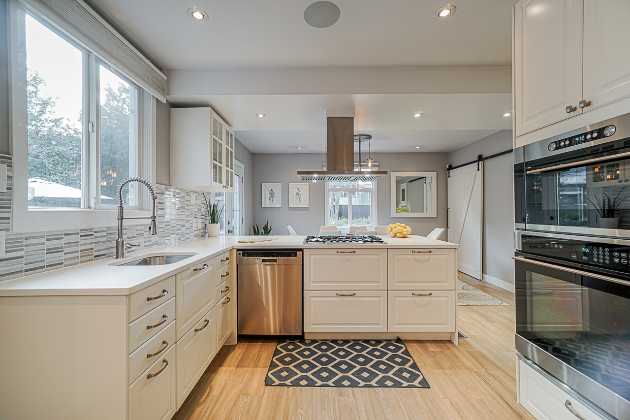 Open kitchen concept at 5085 Inverness Street, Fraser VE, Vancouver East