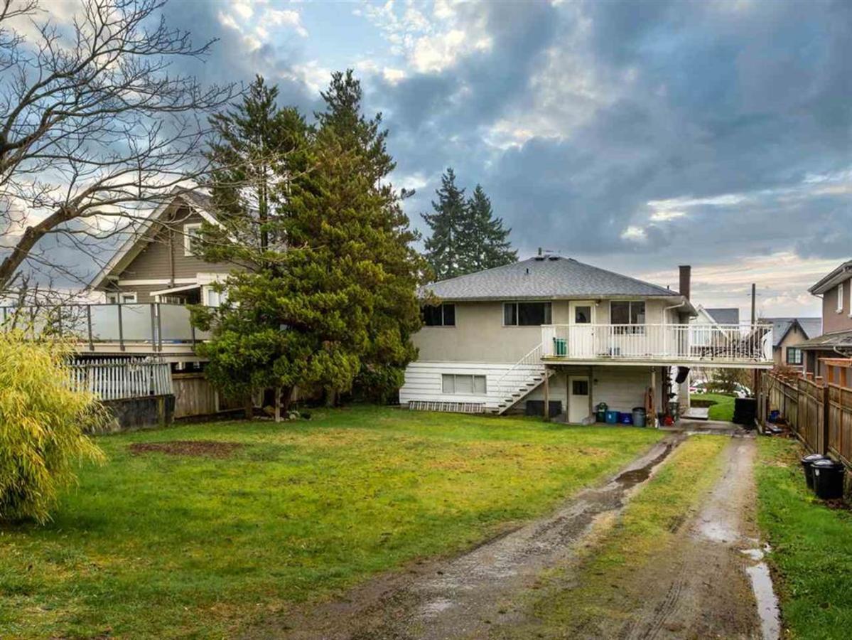 backyard at 524 E 9th Street, Boulevard, North Vancouver