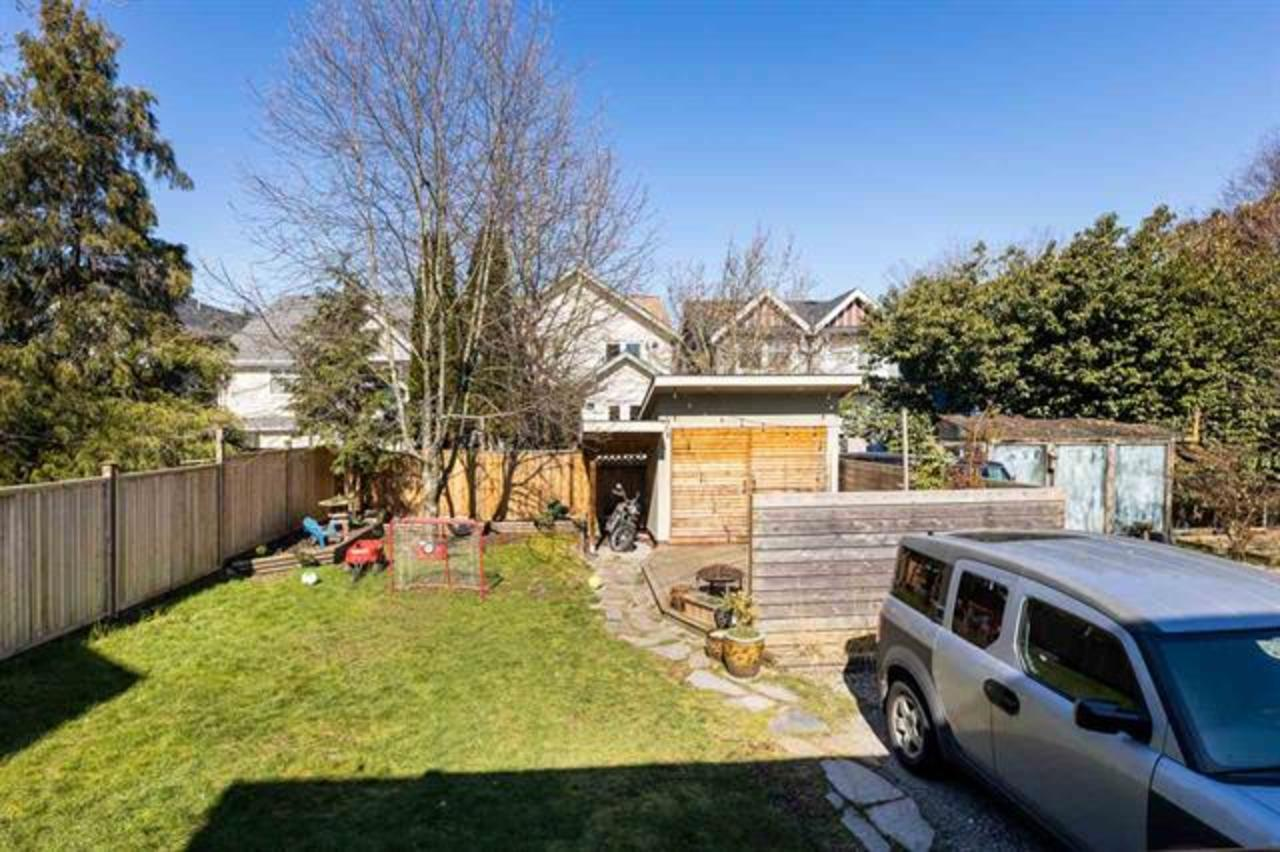 backyard-shed at  1749 Grant Street, Grandview Woodland, Vancouver East
