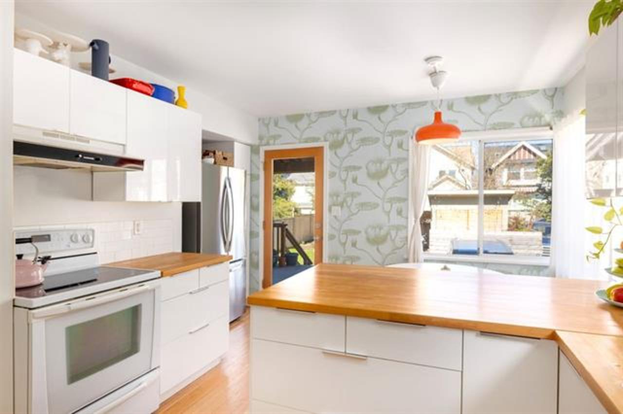 kitchen at  1749 Grant Street, Grandview Woodland, Vancouver East