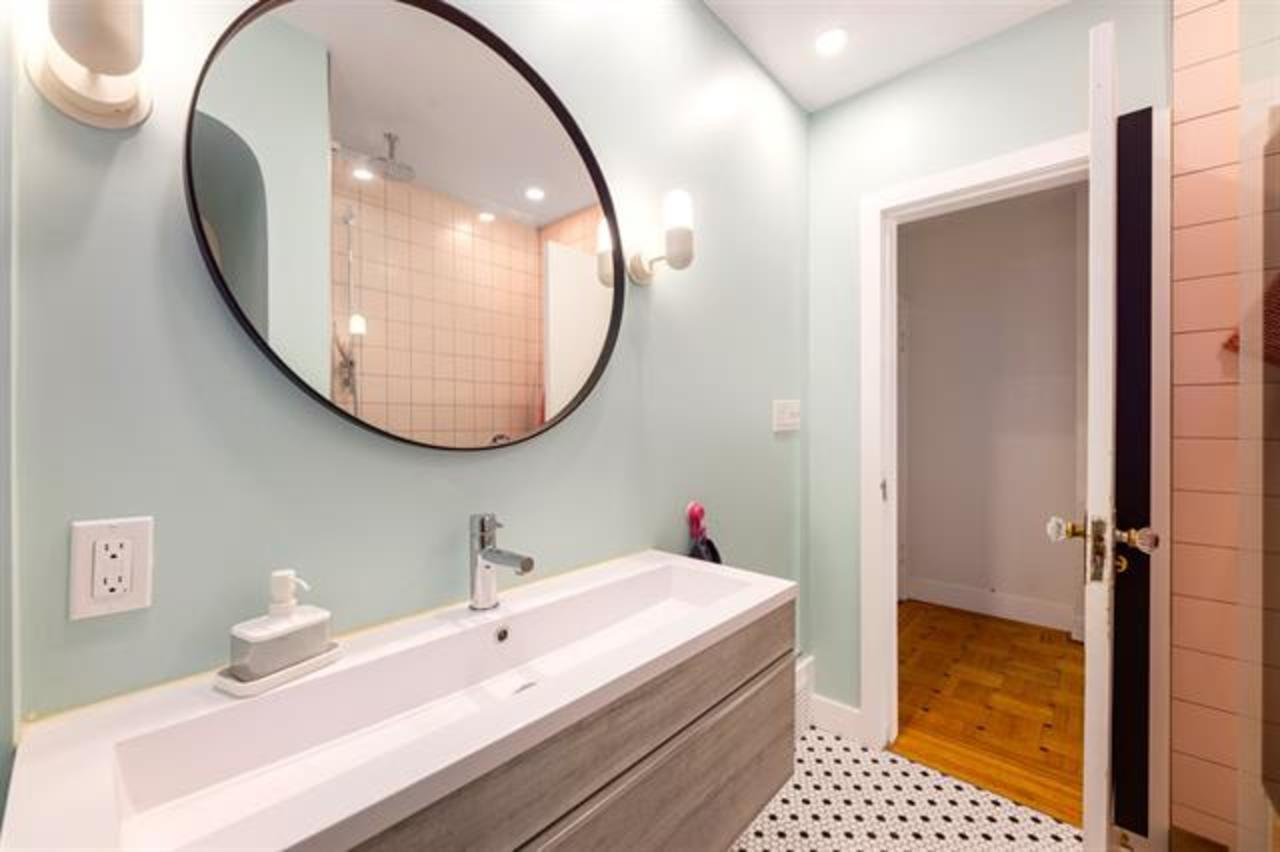 main-floor-bathroom at  1749 Grant Street, Grandview Woodland, Vancouver East