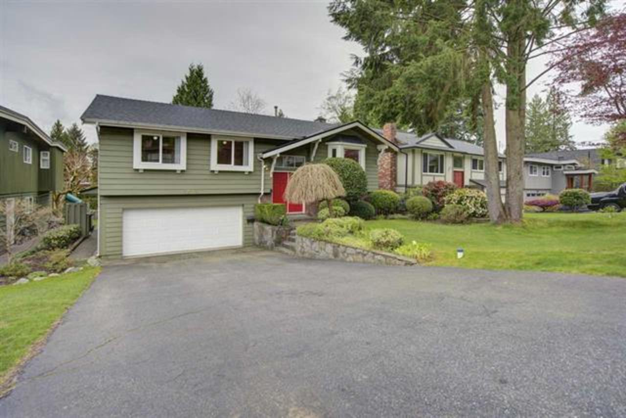 exterior at 1373 Wellington Drive, Lynn Valley, North Vancouver