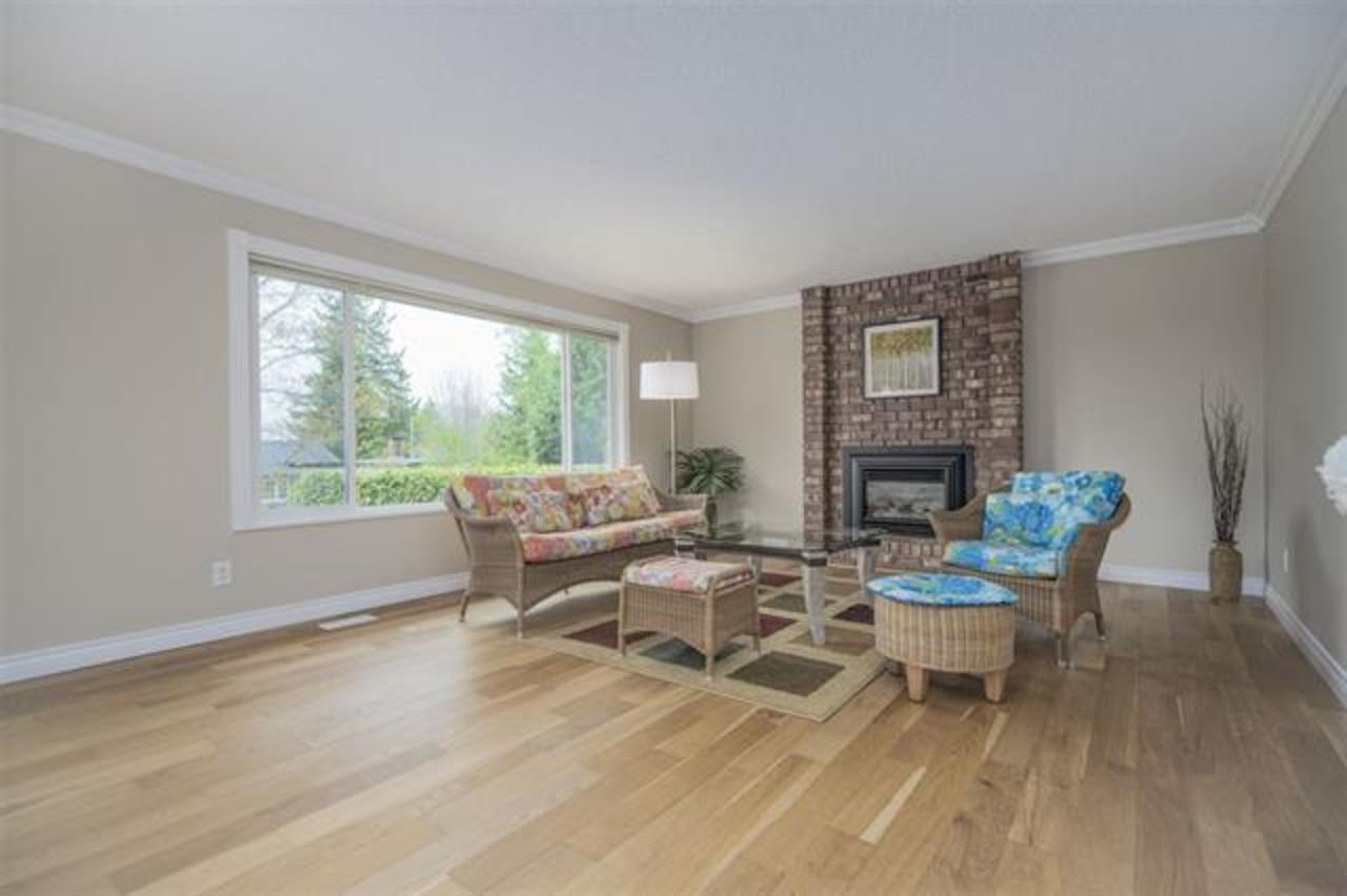 living-room at 1373 Wellington Drive, Lynn Valley, North Vancouver
