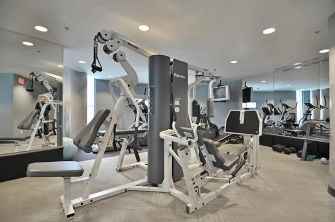 gym at 1105 - 58 Keefer Place, Downtown VW, Vancouver West