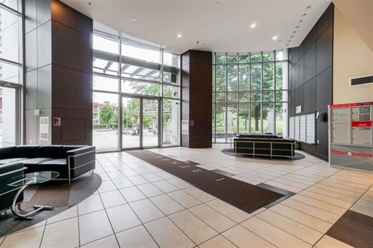lobby at 1105 - 58 Keefer Place, Downtown VW, Vancouver West