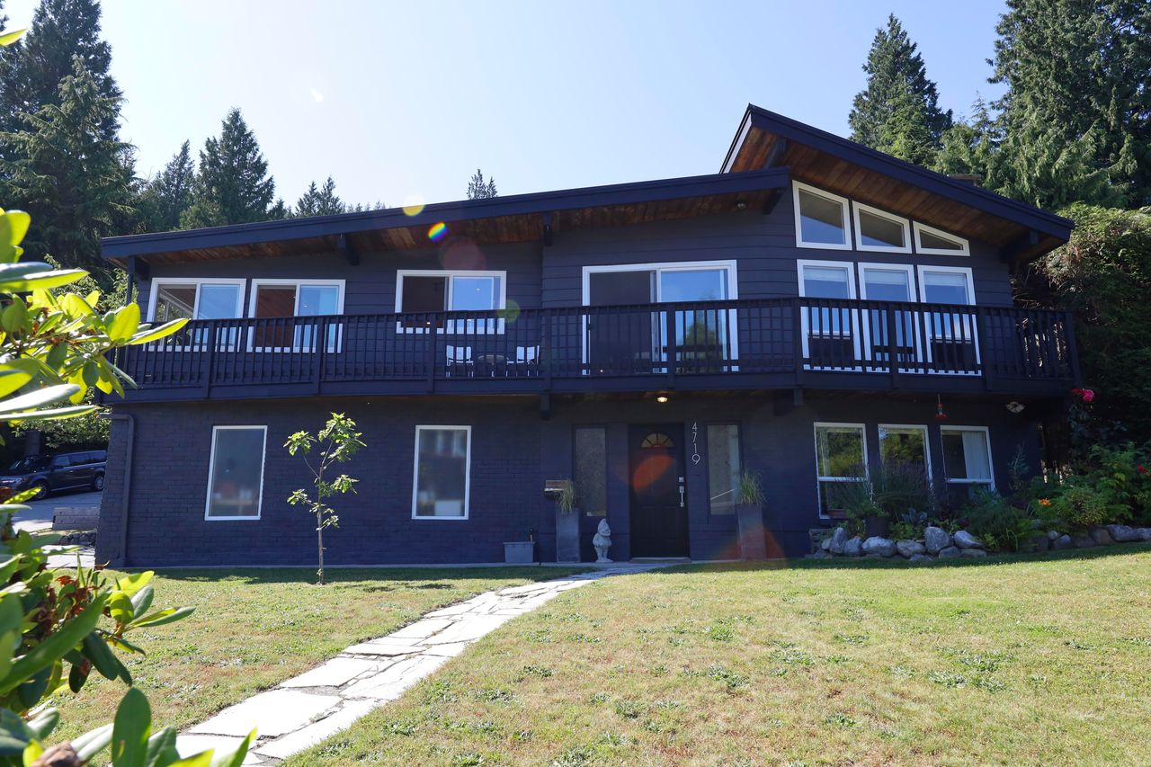 front-of-house1 at 4719 Tourney Road, Lynn Valley, North Vancouver