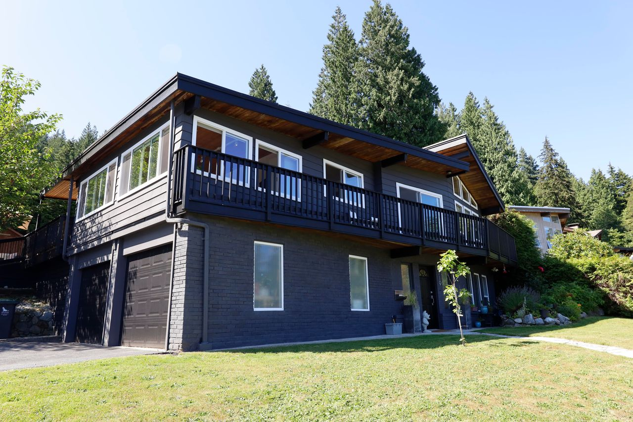 side-of-house at 4719 Tourney Road, Lynn Valley, North Vancouver