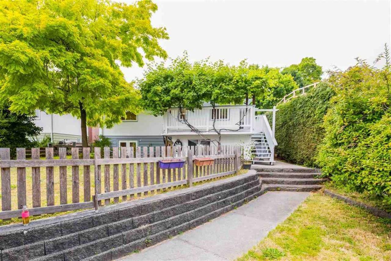backyard at 457 E. 8th Street, Boulevard, North Vancouver