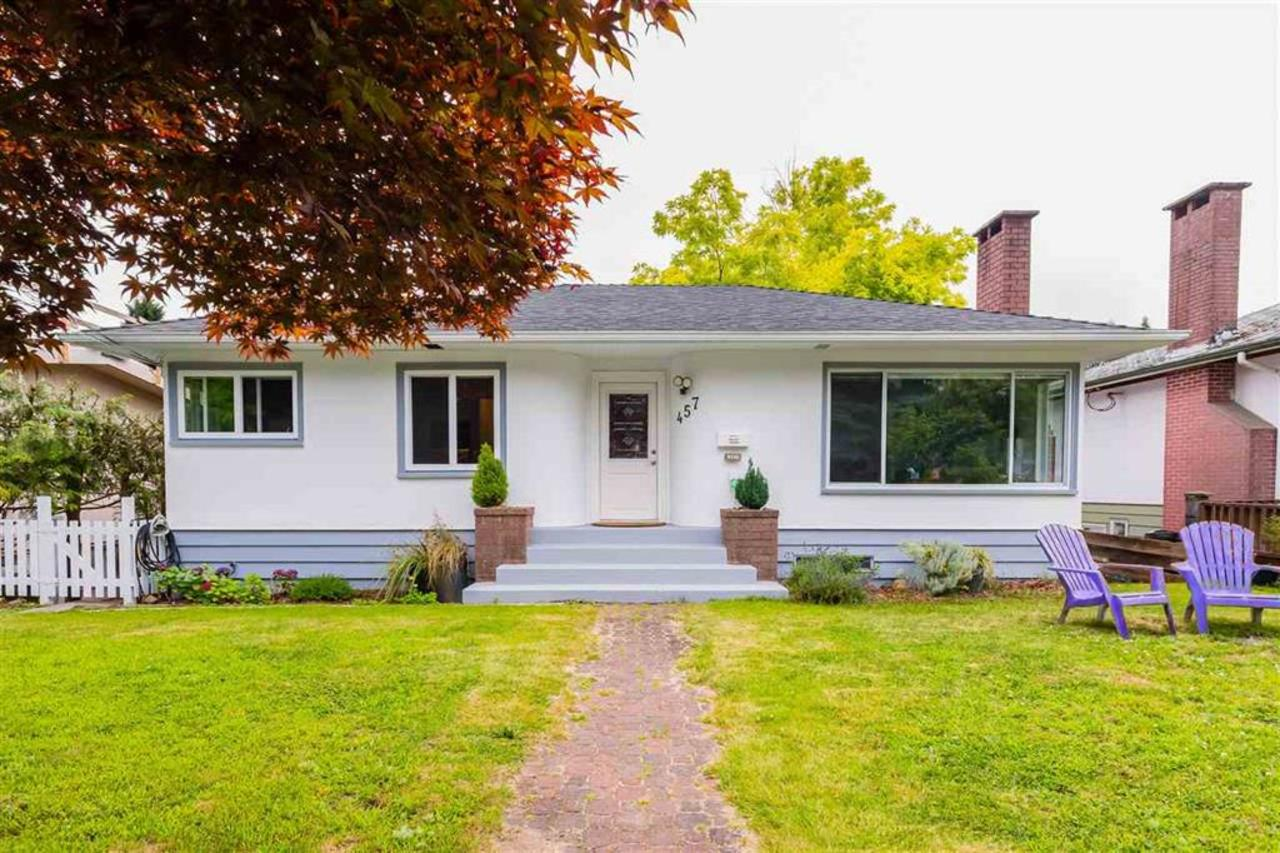front at 457 E. 8th Street, Boulevard, North Vancouver