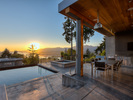 15-sunset-pool-cabana at 389 N Glynde Avenue, Capitol Hill BN, Burnaby North