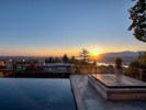 16-sunset-hottub-pool at 389 N Glynde Avenue, Capitol Hill BN, Burnaby North