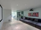 37-media-room-wine-cellar at 389 N Glynde Avenue, Capitol Hill BN, Burnaby North
