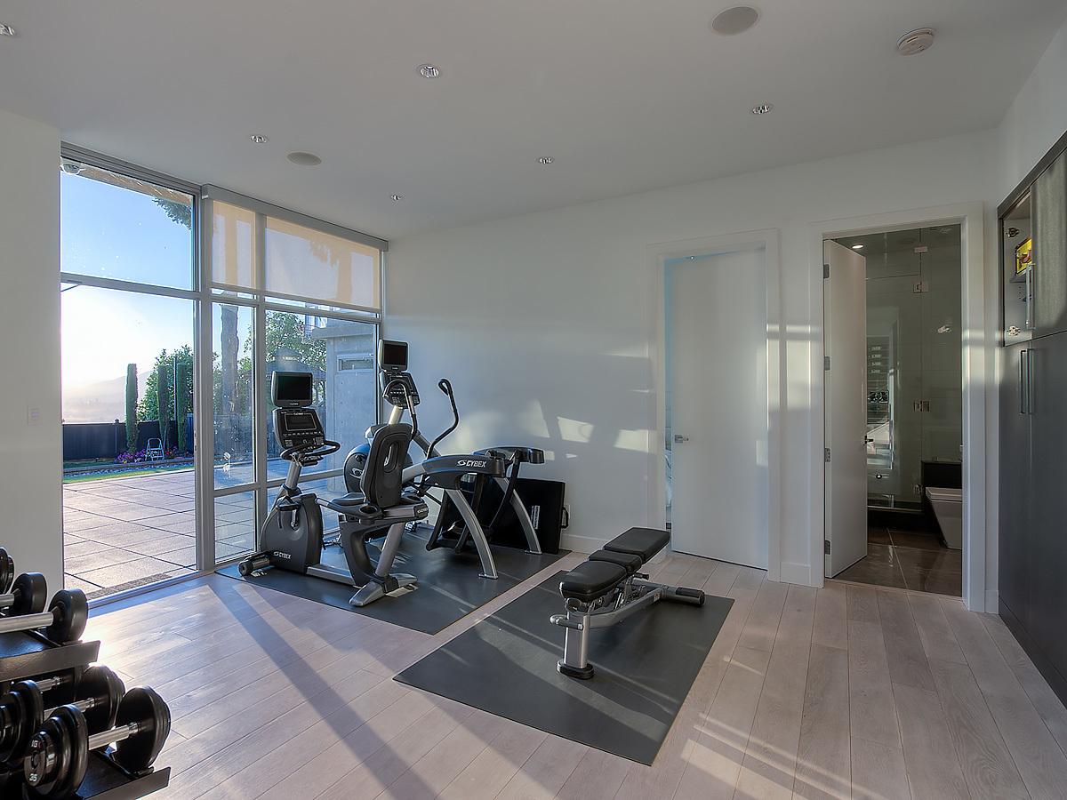 34-gym-1a at 389 N Glynde Avenue, Capitol Hill BN, Burnaby North