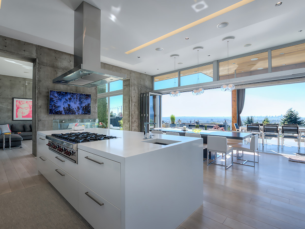 5a-kitchen-view at 389 N Glynde Avenue, Capitol Hill BN, Burnaby North