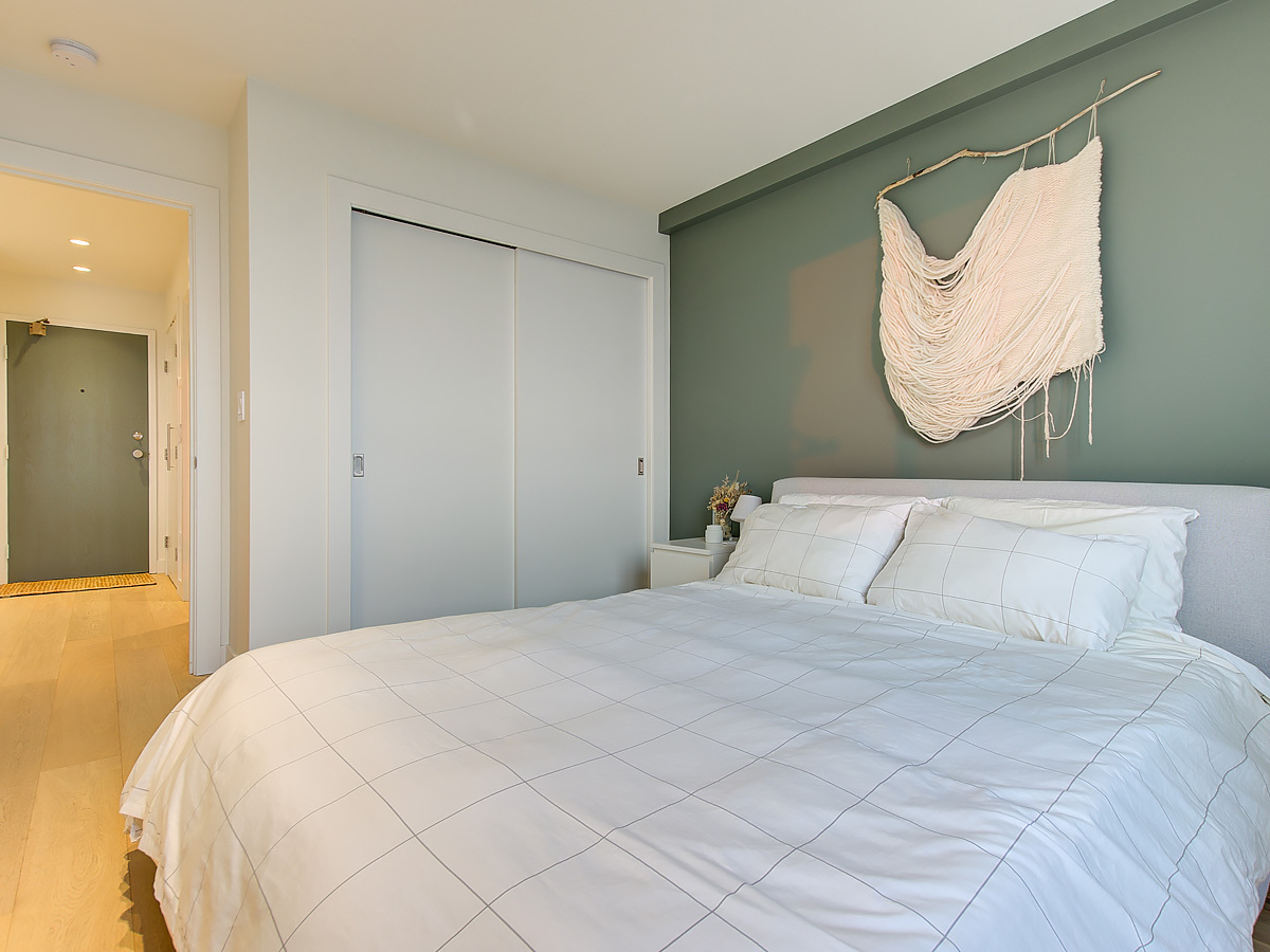 Bedroom at 1203 - 701 W Victoria Park, Central Lonsdale, North Vancouver